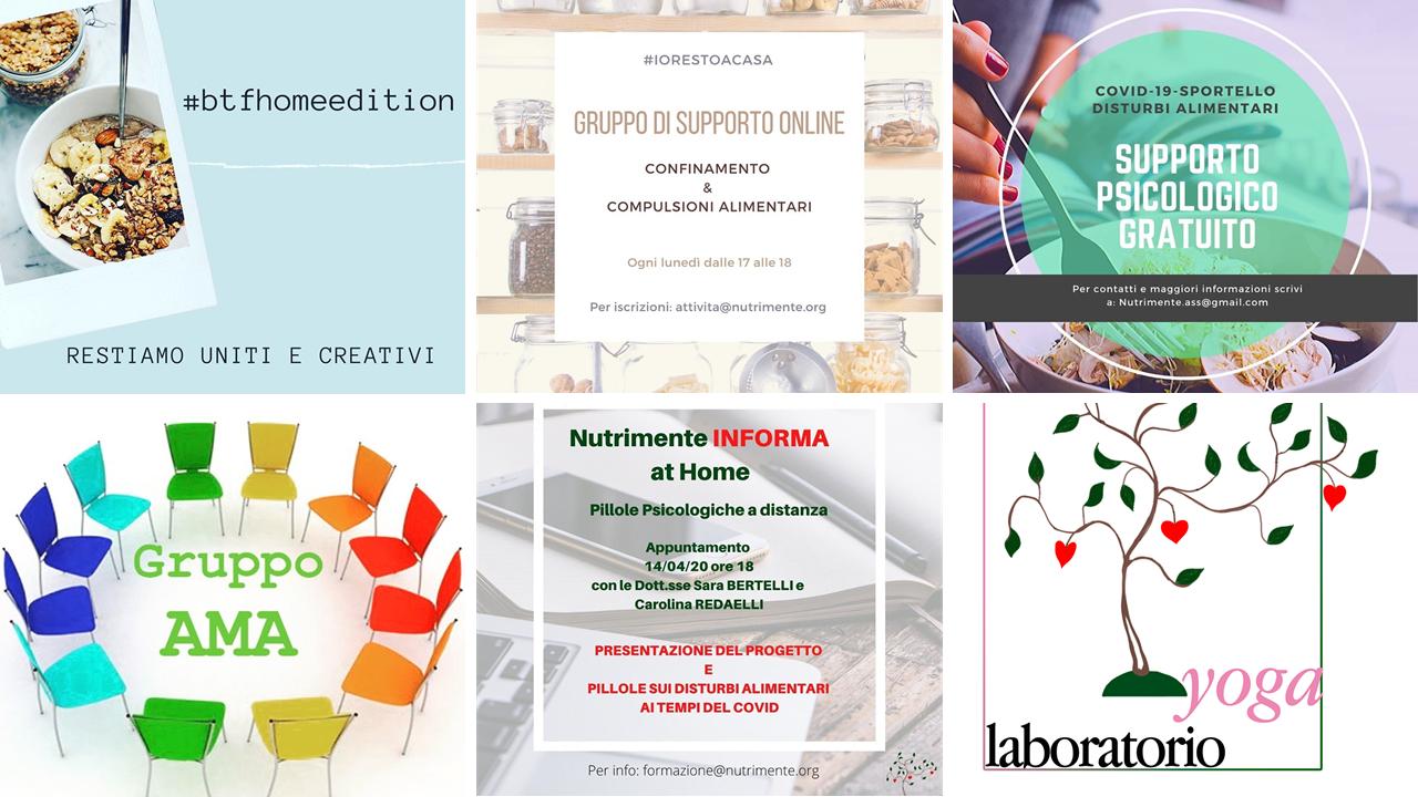 Iniziative Online Associazione Nutrimente Onlus